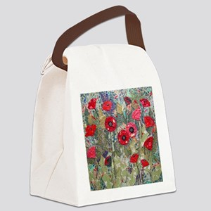 Poppy Fields Canvas Lunch Bag